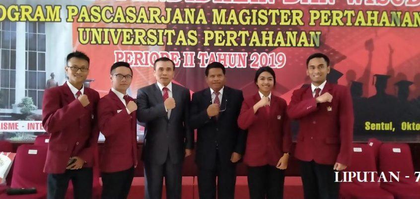 Rektor Unjani Hadiri Wisuda Universitas Pertahanan Sekaligus Mou Dengan Unhan