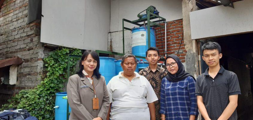 Bantuan unit Pengolah Limbah dan Unit Penyedia Air Untuk Minum