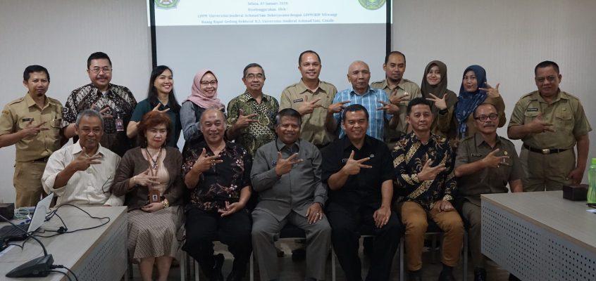 Forum Komunikasi Pengelolaan Daerah Aliran Sungai (FKP DAS) Melakukan Pertemuan Dengan Unjani